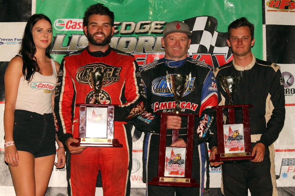 lismore - Harley Smee Nathan Smee and Rusty Whittaker - Smee and Thomsen title winners
