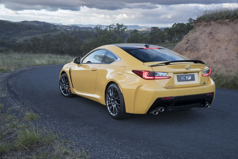 Launch control for V8 RC F