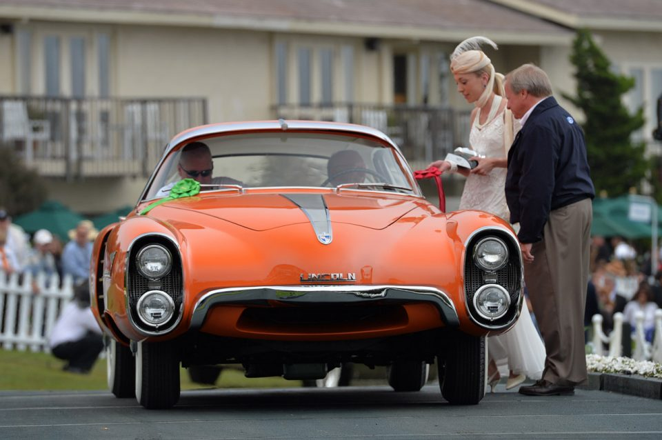 1955 lincoln indianapolis concept pebble beach 07