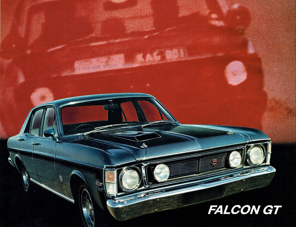 falcon - 1969 Ford XW Falcon GT - XW Falcon propelled Ford to sales record