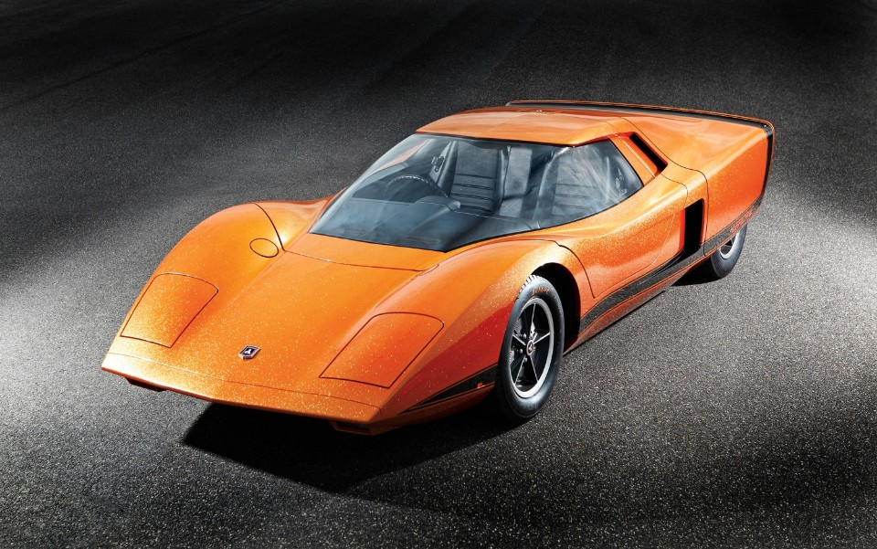 1969 Holden Hurricane front left view