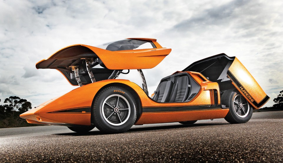 1969 Holden Hurricane left side view