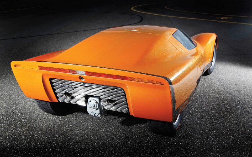 1969 Holden Hurricane rear right view