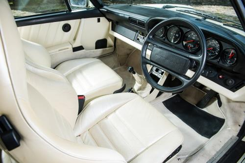 1985 Porsche 911930 Turbo SE interior - Judas Priest Porsche up for grabs