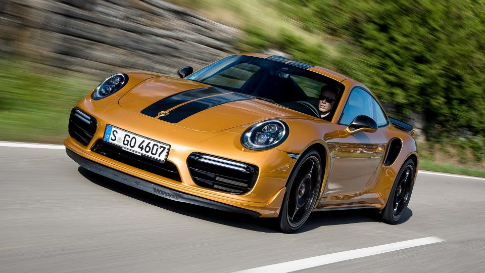 2017 porsche 911 turbo s exclusive series 2