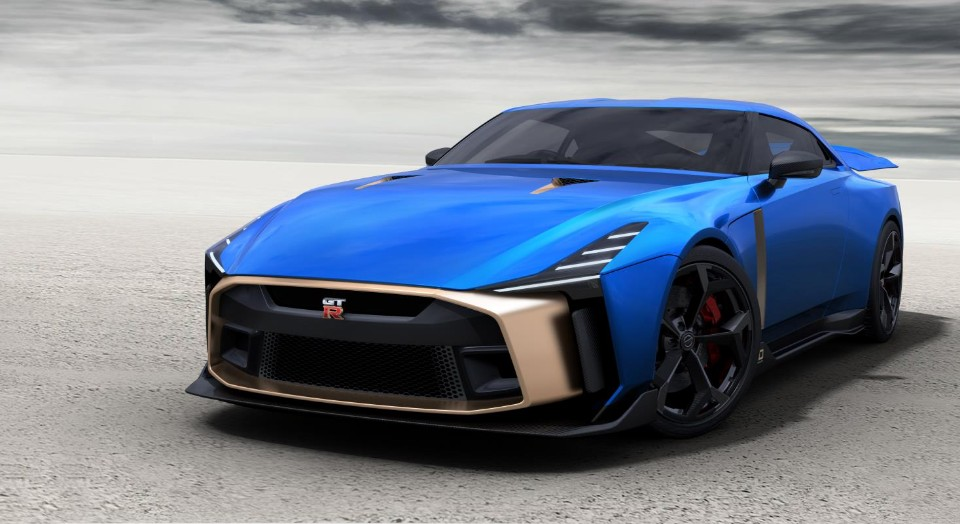 nissan gt-r - 2018 12 06 Nissan GT R50 Production Version 4 - $1.5 million for one of 50 Nissan GT-Rs