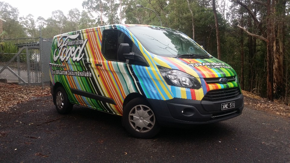 We put the Ford Transit to work