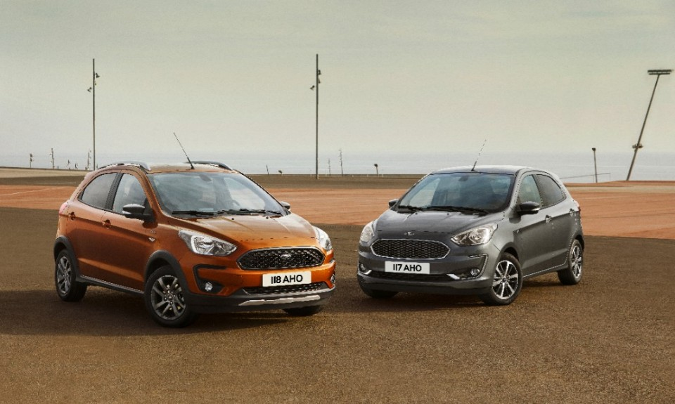 cars we don't get: ford ka - 2018 FORD KA RANGE SHOT V4 - Cars we don't get: Ford Ka