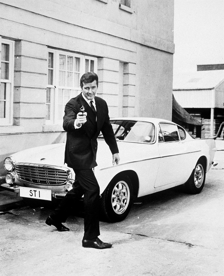225617 Roger Moore as Simon Templar in  The Saint  TV Series 1