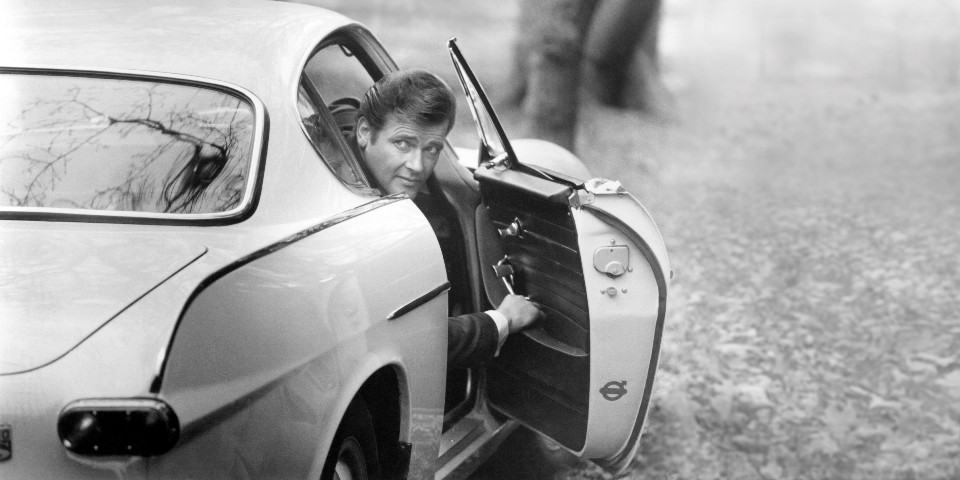 225618 Roger Moore as Simon Templar in  The Saint  TV Series