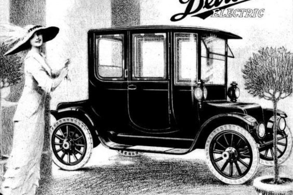 Mrs Ford drove EV (but it wasn't his)