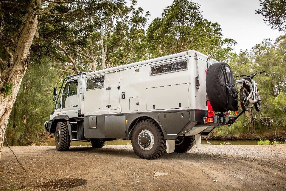 Meet the ultimate off road campervan