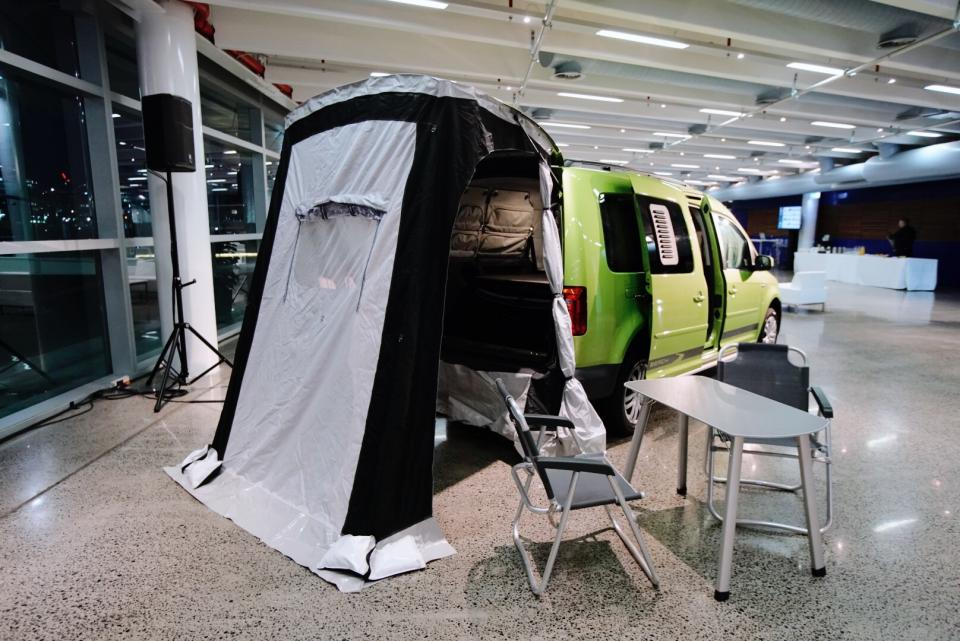 The camper that pampers