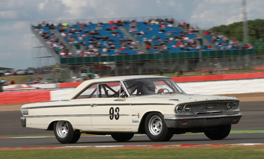warp - Alan Manns original Galaxie racing at the Classic - Chance encounter a time warp for rally ace