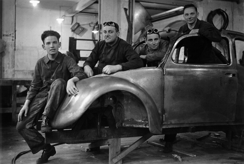 recaro - Beetle prototype in the 1930s - Story behind the seat of power