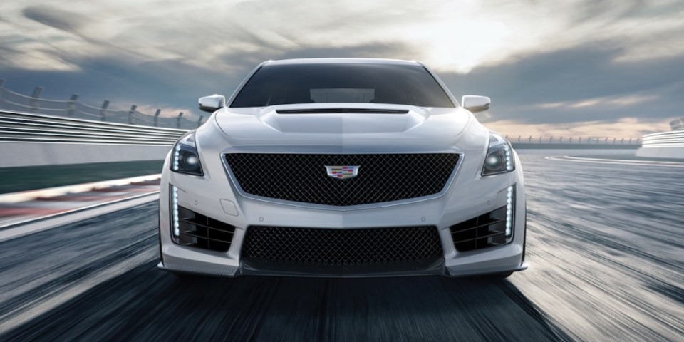 cars we don't get: cadillac cts-v - Cadillac CTS V front - Cars we don't get: Cadillac CTS-V