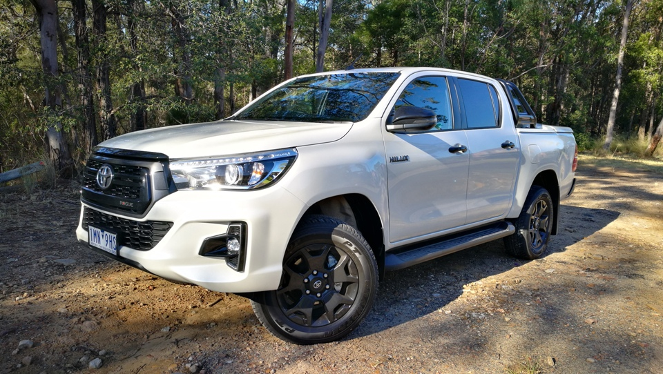unbreakable hilux now rugged too - Chris HiLux Rogue profile - Unbreakable Hilux now rugged too