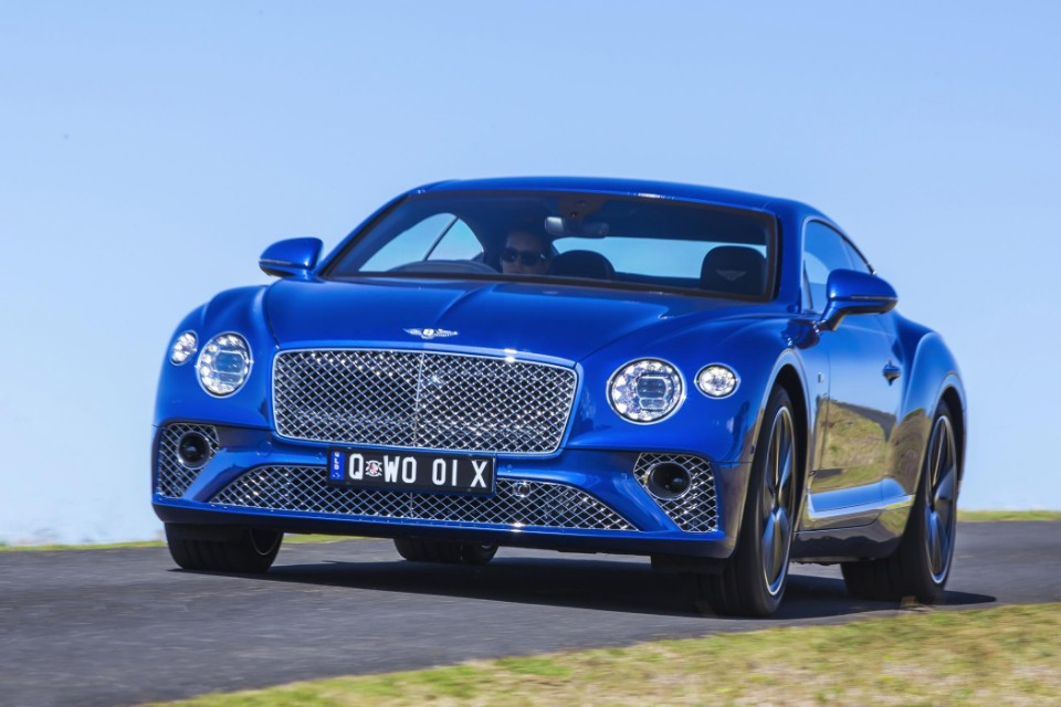 bentley goes into bat with new gt - Continental GT 2 - Bentley goes into bat with new GT