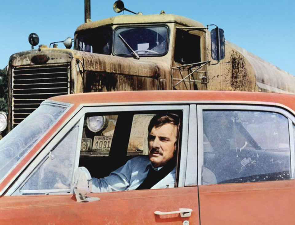 you never saw the truck driver - Duel dennis weaver 2 - You never saw the truck driver