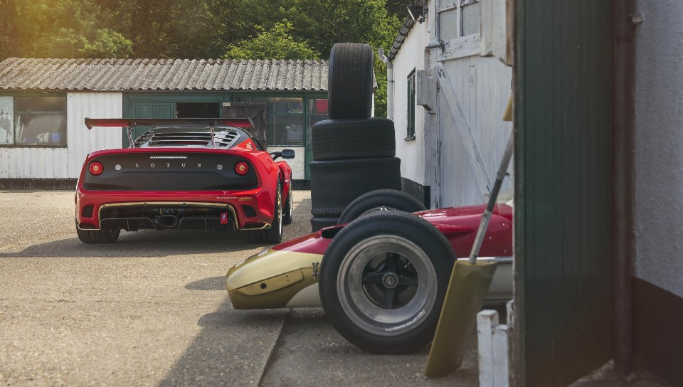 lotus bashes out two screamers for birthday - Exige430Cup Type49 7896 1 - Lotus bashes out two screamers for birthday