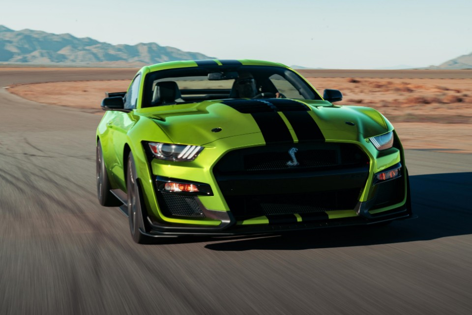mustang - Ford Mustang Grabber Lime 1 - Green-eyed monster from hell