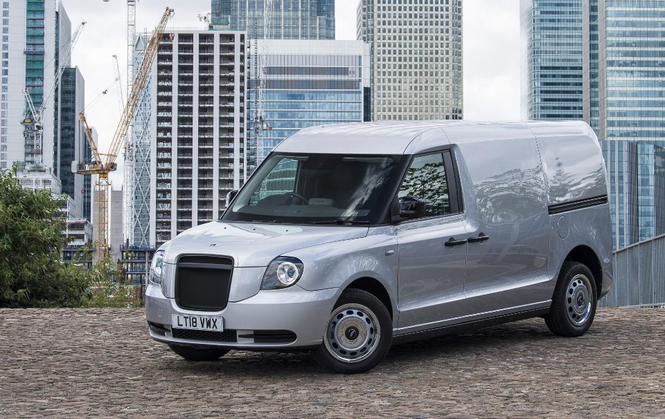 First the taxi, now the electric van