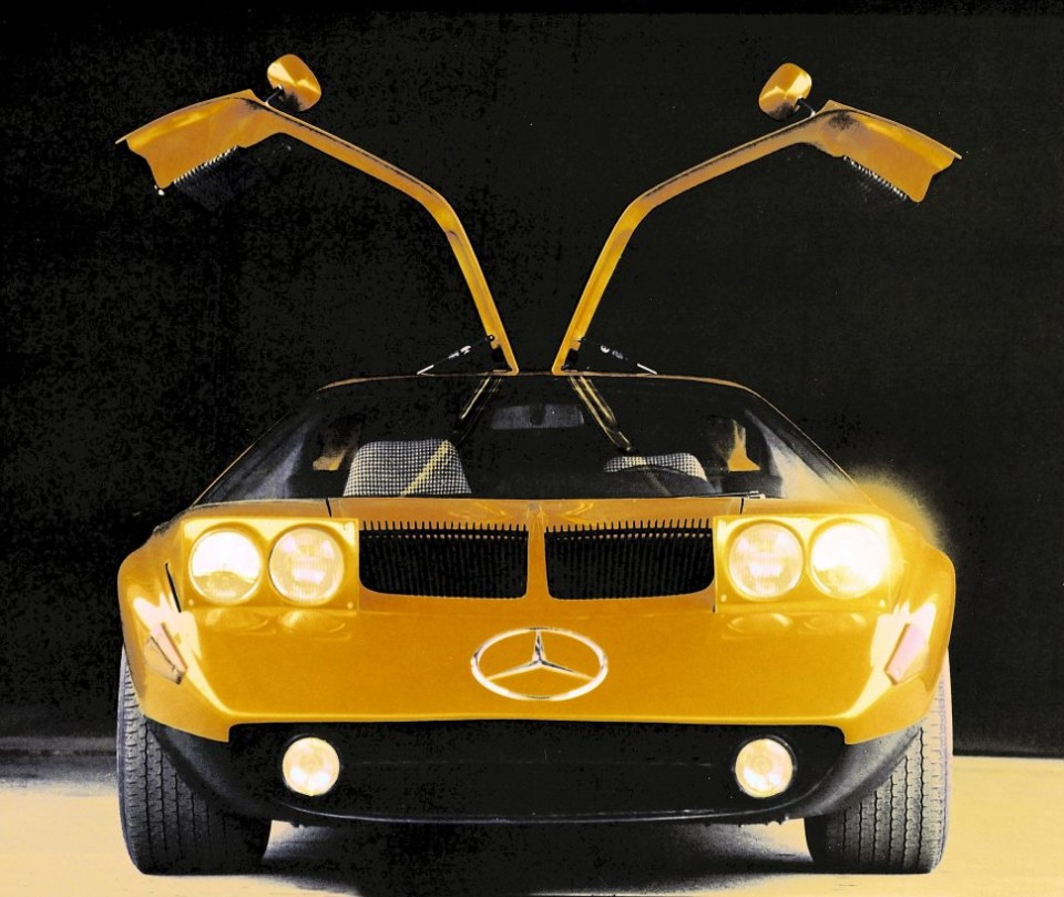benz - MB C 111 3 - A little ray of sunshine for could-have-been Benz