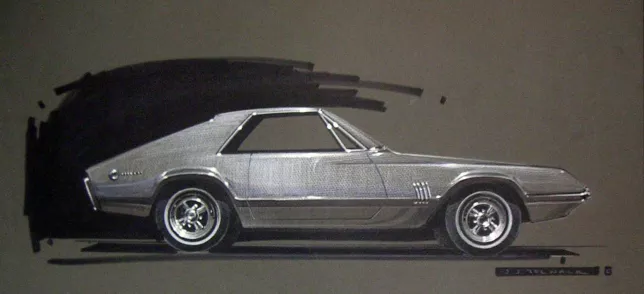 How the Mustang got its clothes
