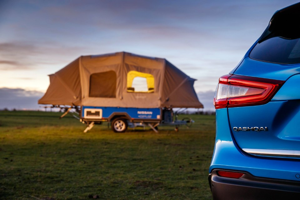 camping - Nissan AirOPUS 111 source - Car batteries find new life off road