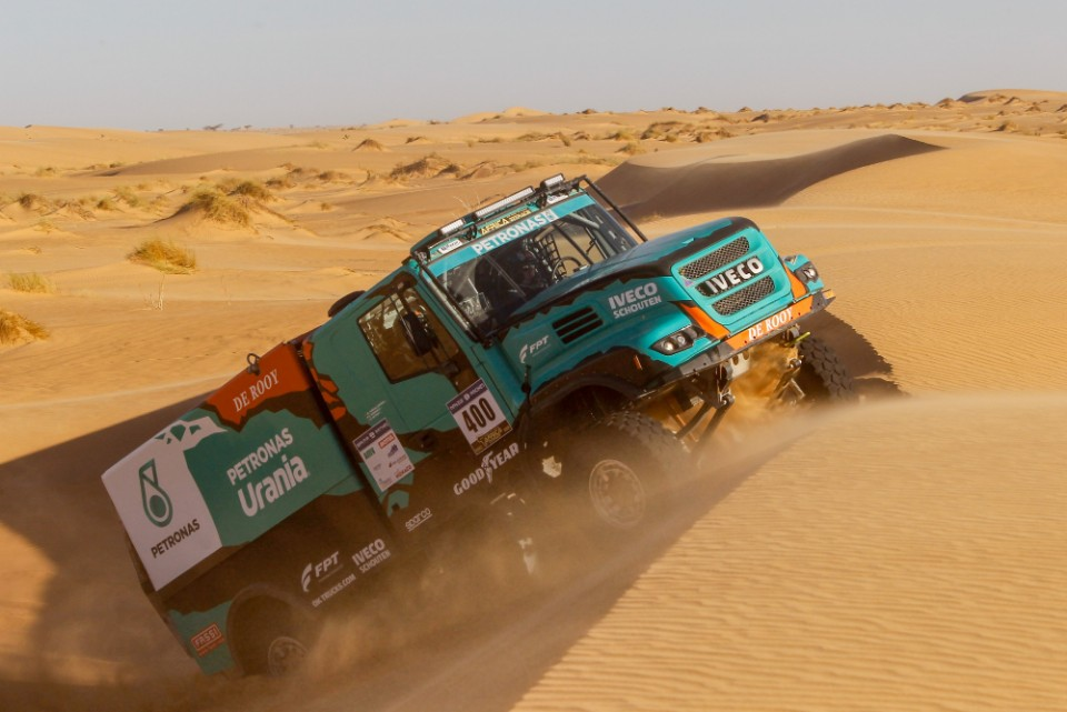 dakar - Petronas Team De Rooy Iveco - Dakar gets ready to rumble
