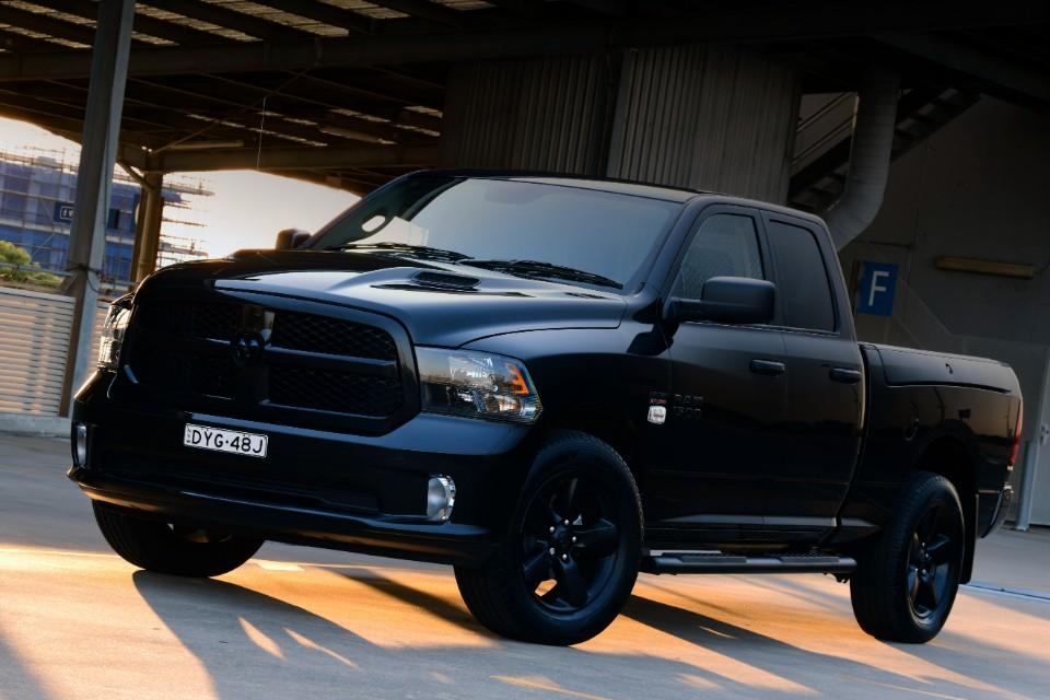 black - RAM 1500 BlackPack - It's the black sheep of the family