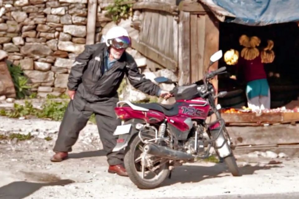 Age no barrier to this 70 something adventurer