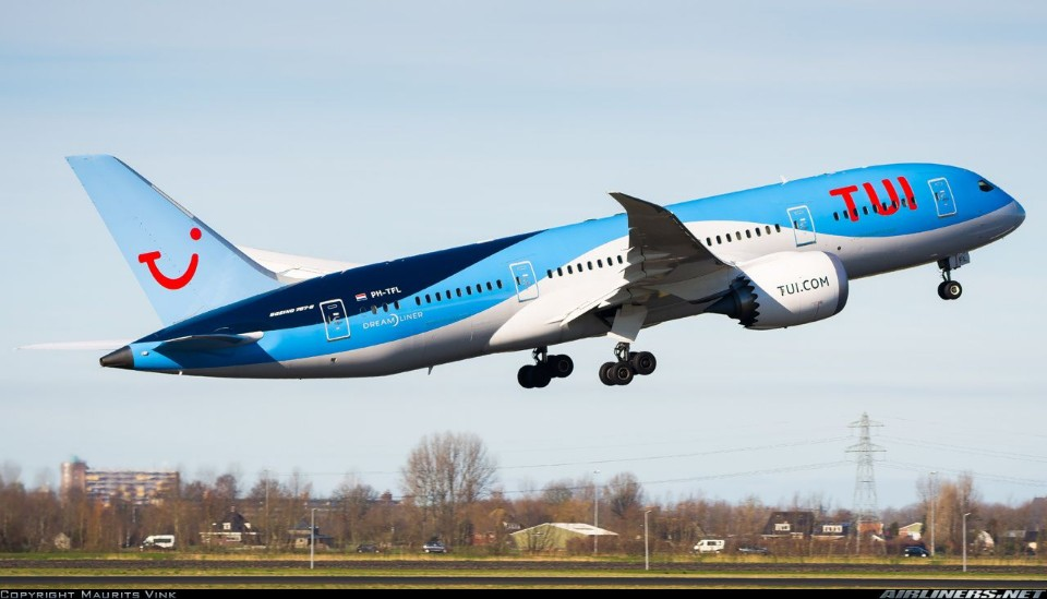 plane - TUI airline - That's just plane crazy . . .