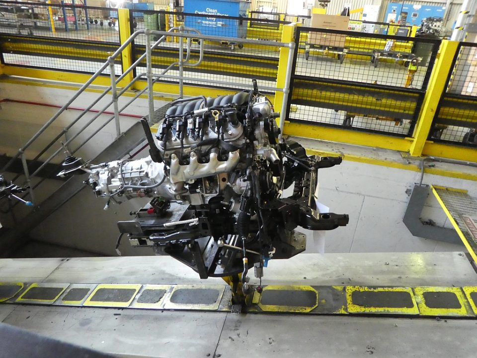 V8 and transmission - Taking the last Holden factory tour