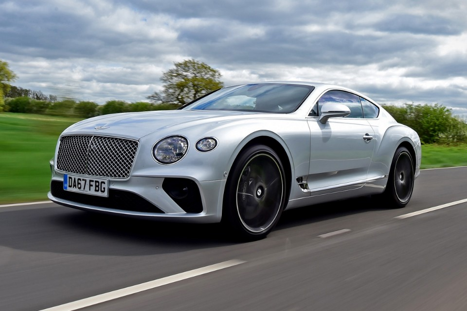 bentley - bentley continental gt - Bentley in a spin over GT