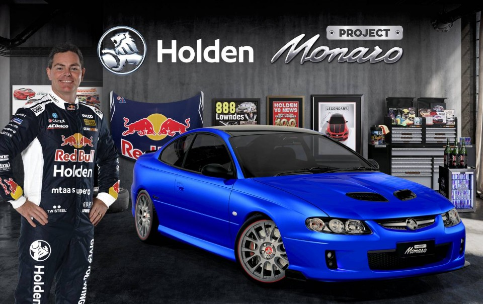 holden - craig lowndes cv8 monaro - This is How We CONNECT, reveals Holden