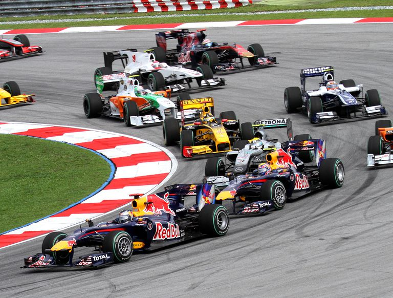 formula 1 - formula 1 attendance figures - Formula 1 — it's all in the numbers!