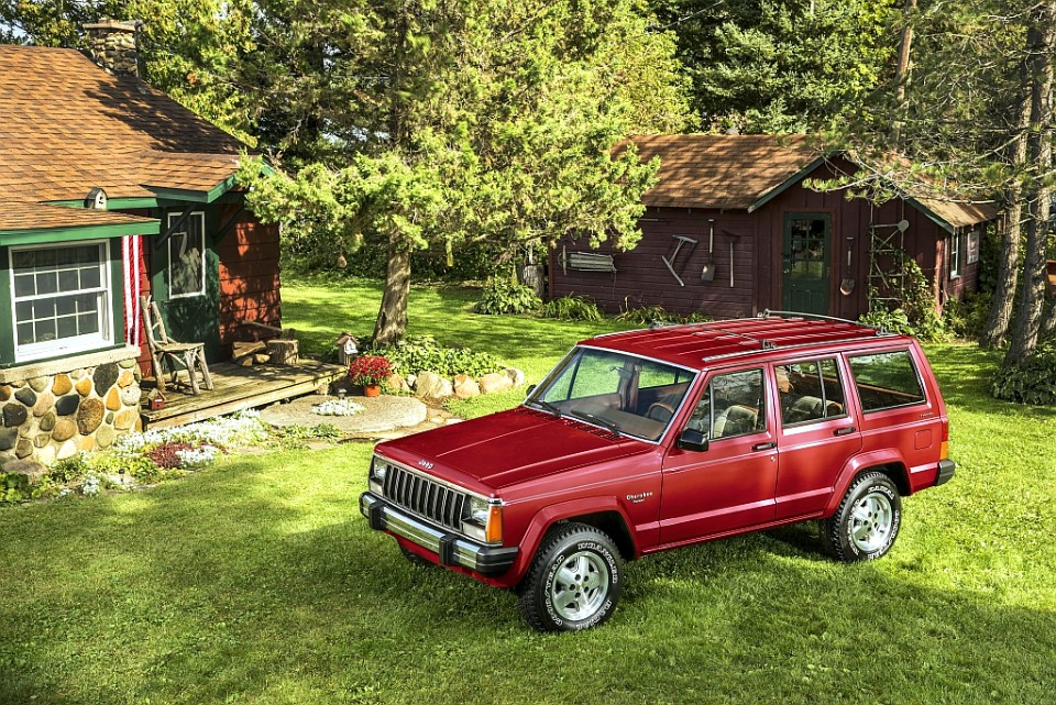 in a 'teague' of his own - jeep CJ cherokee 1 - In a 'Teague' of his own