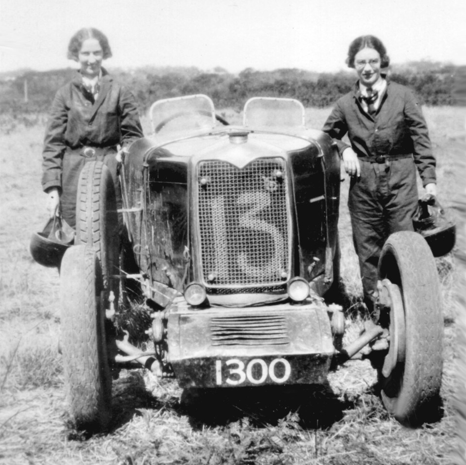 Australia's first pro race driver was a woman