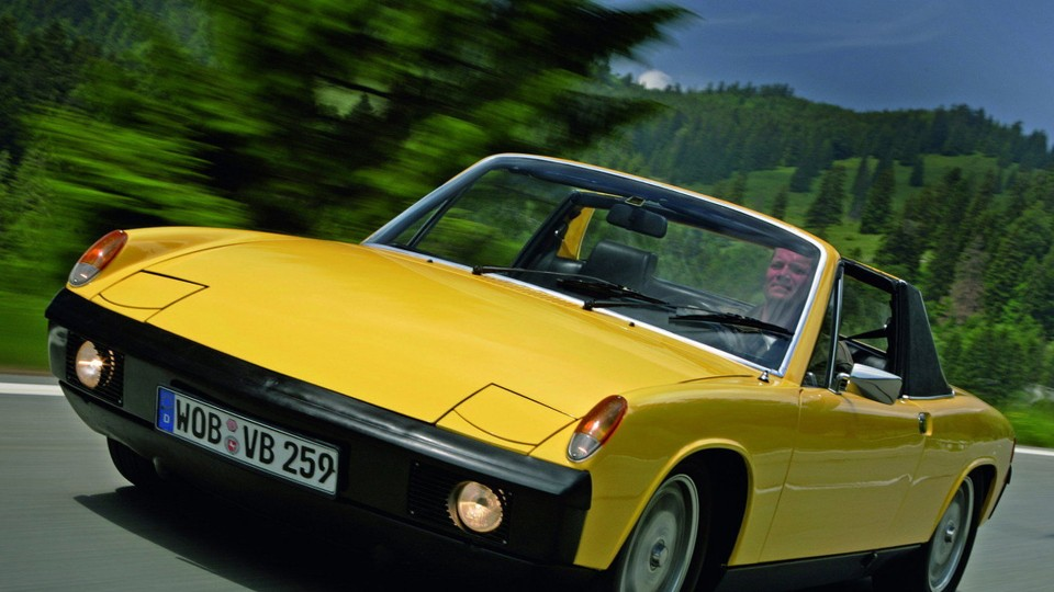 porsche - porsche 914 5 - Six-pack Porsche a rally rarity