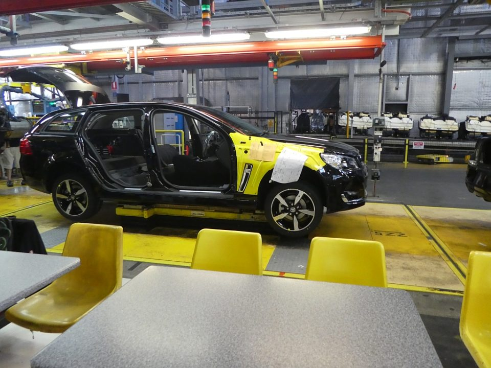 ready for an interior - Taking the last Holden factory tour