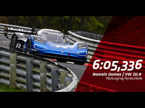 electric - untitled lRHIiJjWhWo - Record-breaking electric race car in action