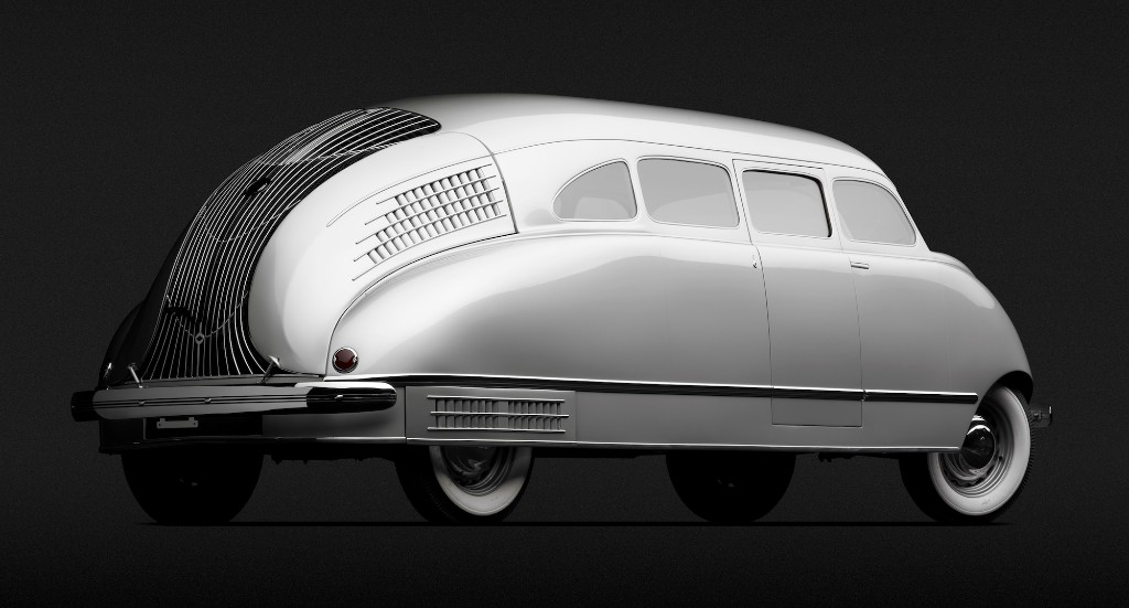 1936 Stout Scarab 02 - Scarab born 15 years before VeeDub's bus