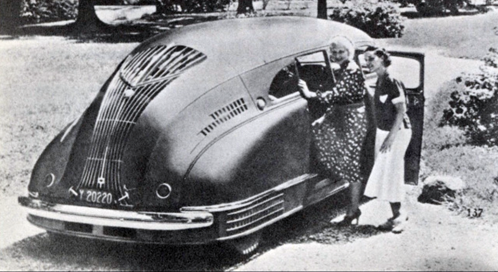 1936 Stout Scarab 12 - Scarab born 15 years before VeeDub's bus