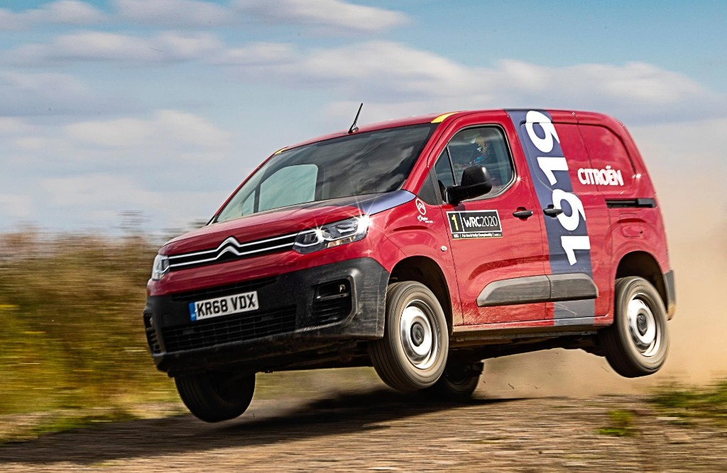 Rally ace gives it to the Berlingo