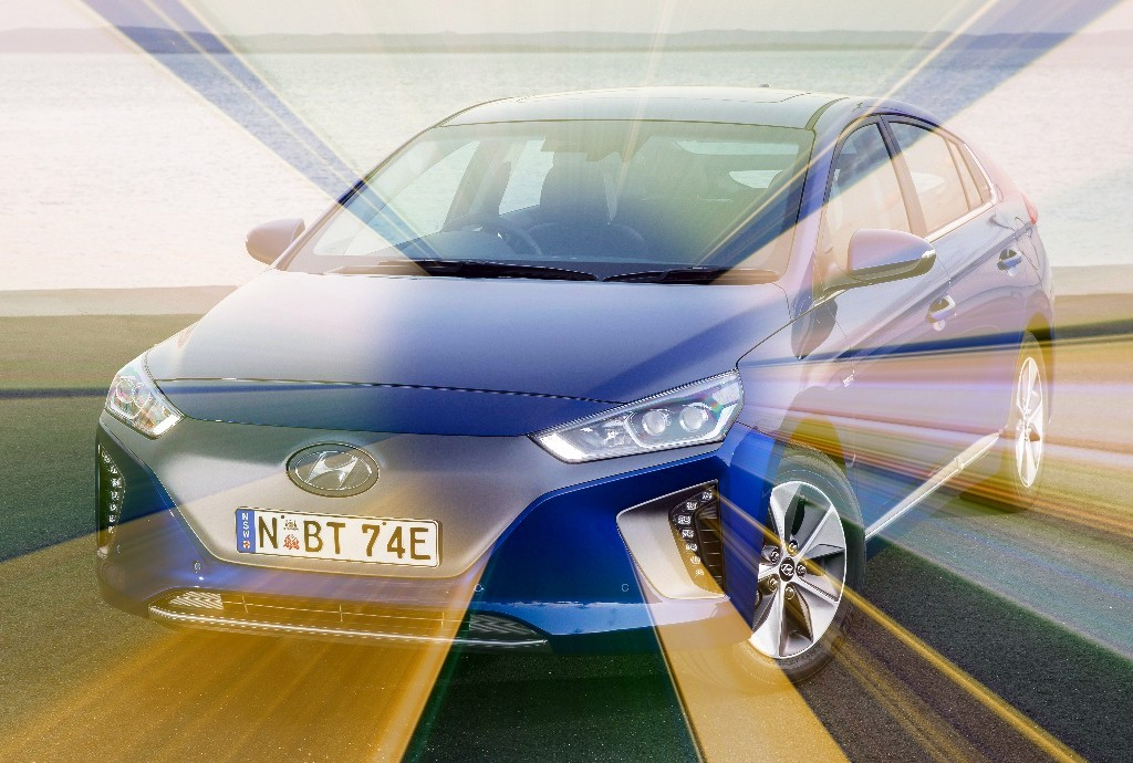 Ioniq Electric: Simon and Garfunkel's favourite