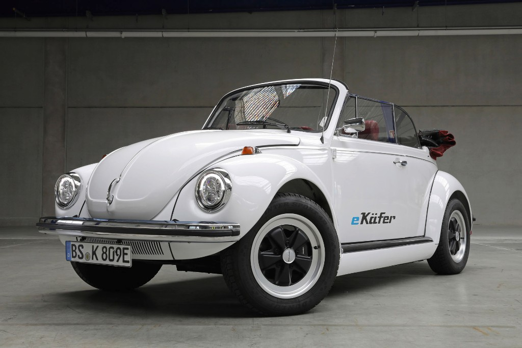 Beetle back with electric motor