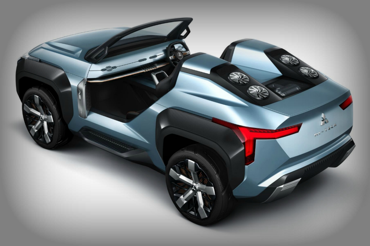 Buggy boasts four electric motors