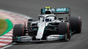 Bottas bags one for Benz in perfect storm