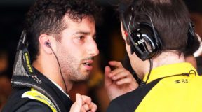 Protest as Racing Point gets stuck into Renault